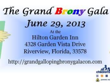 grand galloping brony gala mini con tickets in riverview