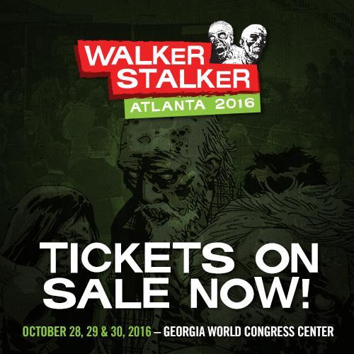 Walker stalker atlanta 2016 atlanta ga walker stalker con atlanta