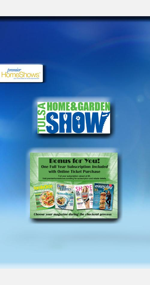 Greater Tulsa Home Garden Show Premier Home Shows Tickets