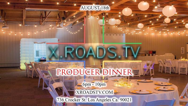 X Roads TV Network Producer Dinner
