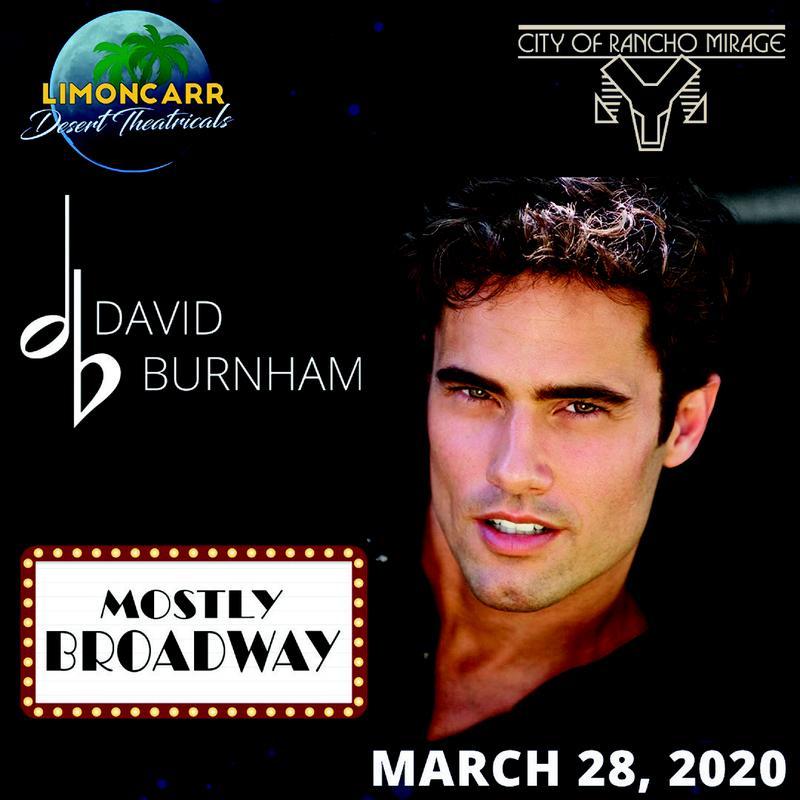 David Burnham - Mostly Broadway (General Admission)