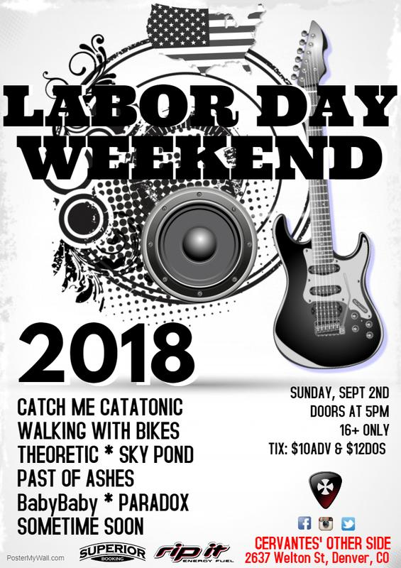 Labor Day Weekend Bash at Cervantes' Other Side