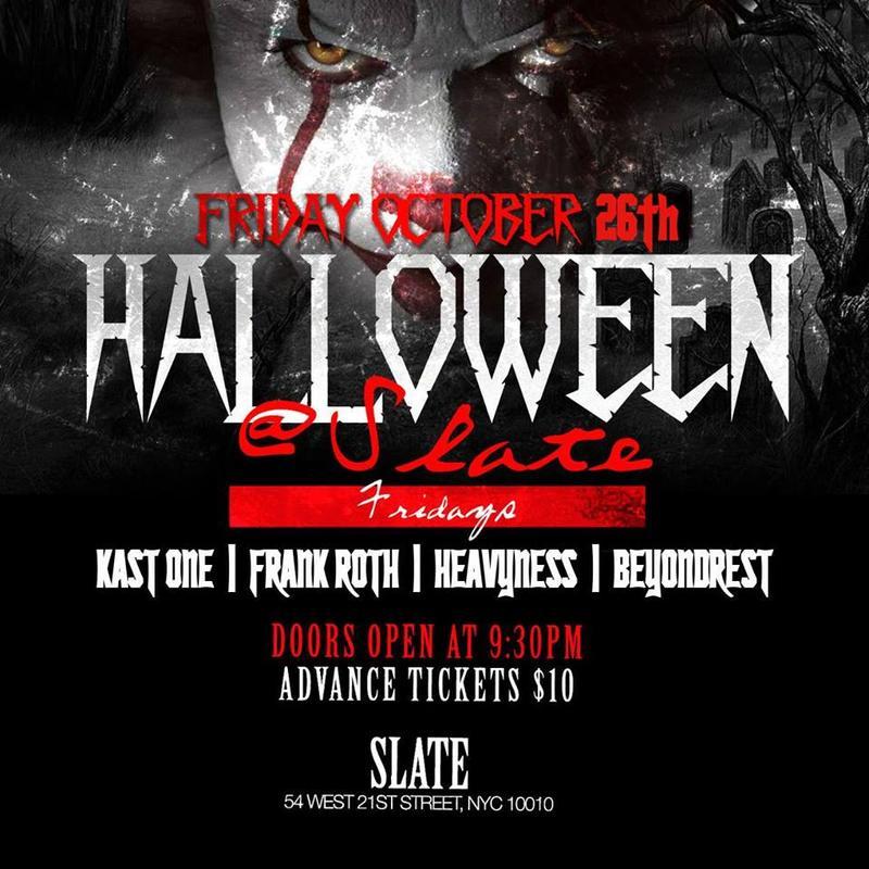 Halloween Slate Party At Slate
