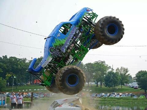 Monster Truck Fall Bash