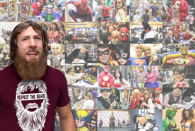 WWE® Daniel Bryan® Friday VIP @  Wizard World Columbus (Ohio) '15