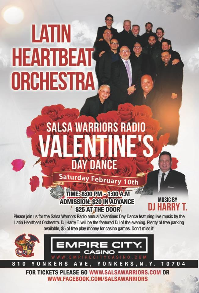 Salsa Warriors Valentine S Day Dance Live The Latin Heartbeat