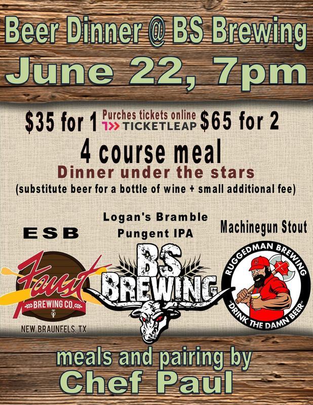 June Beer Dinner