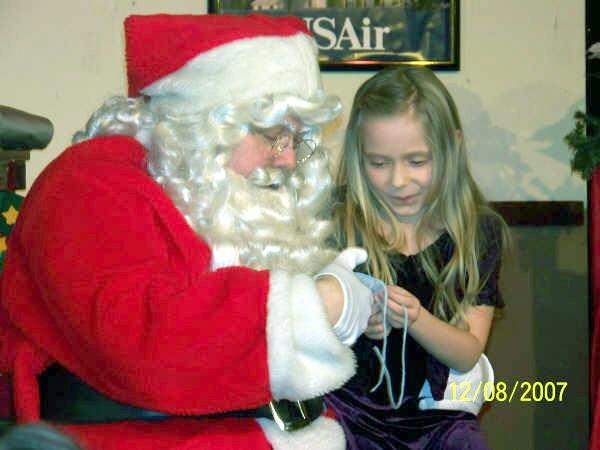Lunch with Santa 2015 at The Station Dinner Theatre