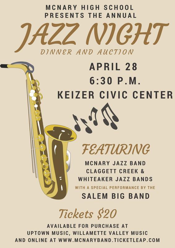 McNary Jazz Night and Auction