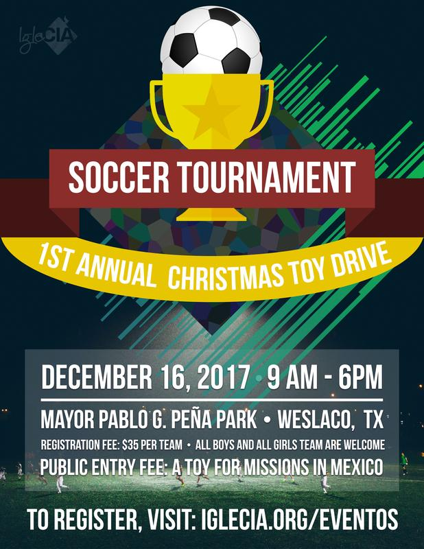 1st Annual Christmas Soccer Tournament & Toy Drive