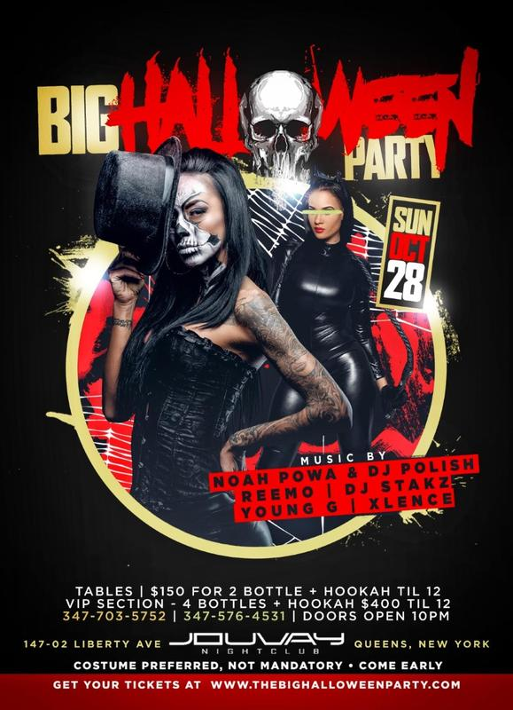 Big Halloween Party At Jouvay Nightclub