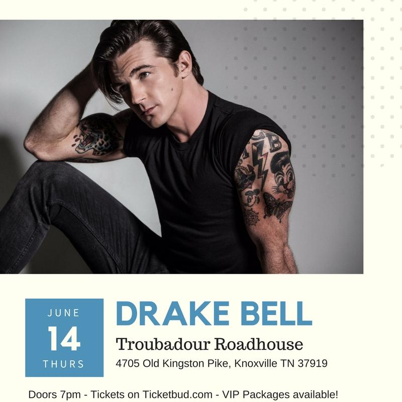 Drake Bell at The Troubadour Roadhouse