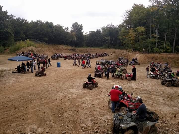 Knapp Creek VFD Annual ATV Dice run and ATV Raffle 2018