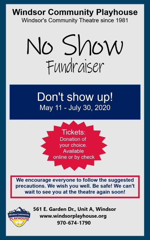 """""""NO SHOW"""" Fundraiser"""