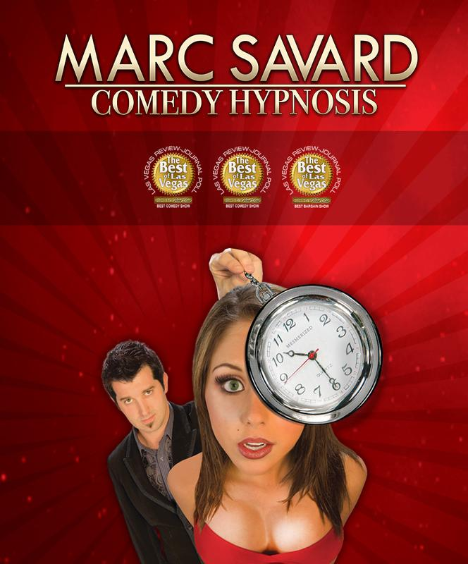 Marc Savard Comedy Hypnosis 2019