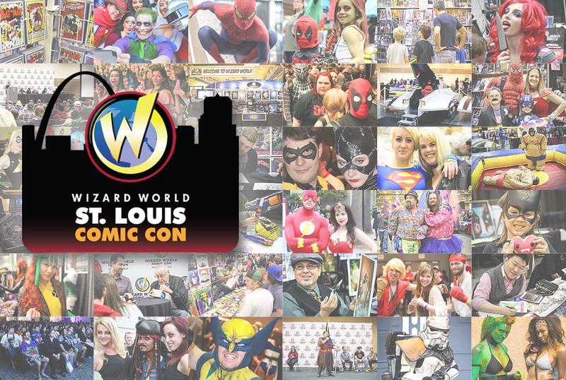 Wizard World Comic Con St. Louis 2015 Admission