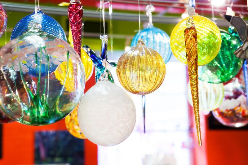 Glassblown Ornament
