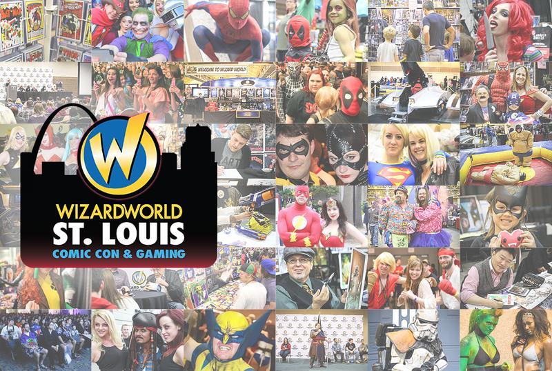 Wizard World Comic Con ST. LOUIS 2016 Admission