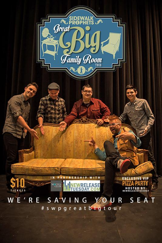 "Sidewalk Prophets ""Great Big Family Room Tour"" - Cheyenne, WY"