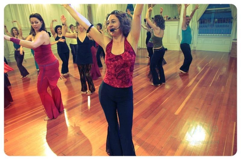 Garden Girls Nia Dance Class