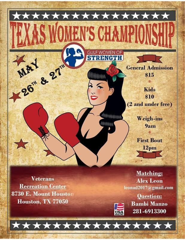 3rd Annual Texas Women's Championship