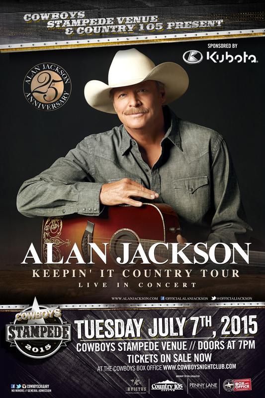 ALAN JACKSON: Cowboys Stampede Venue