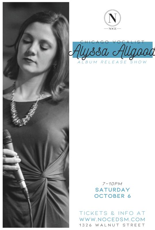Chicago Jazz Vocalist Alyssa Allgood