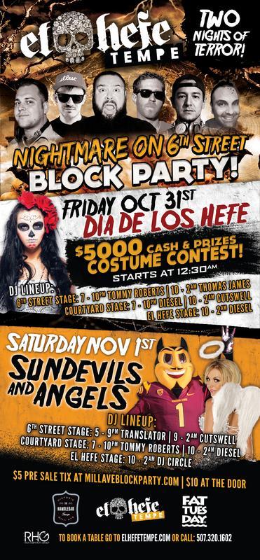Nightmare On 6th Street - Halloween Block Party 2014