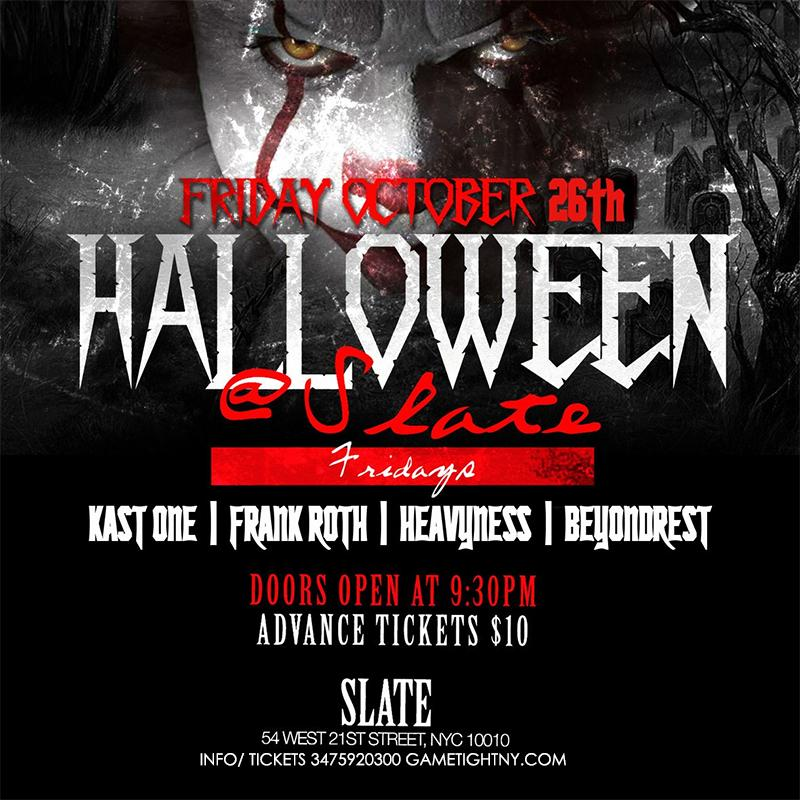 Slate NYC Halloween Party 2018