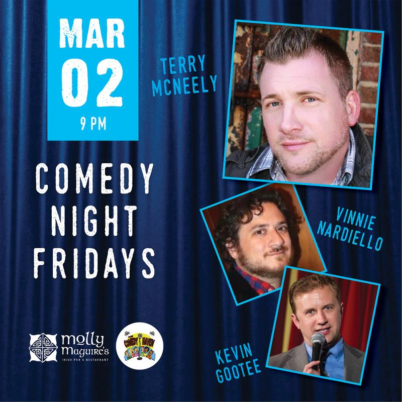 Comedy Night Fridays 3/02/2018