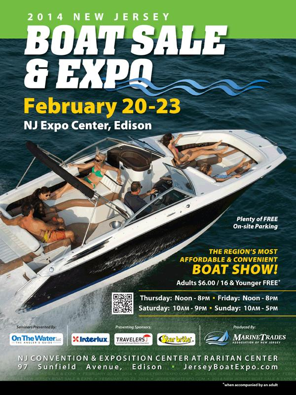 2014 new jersey boat sale expo tickets in edison nj for Edison home show