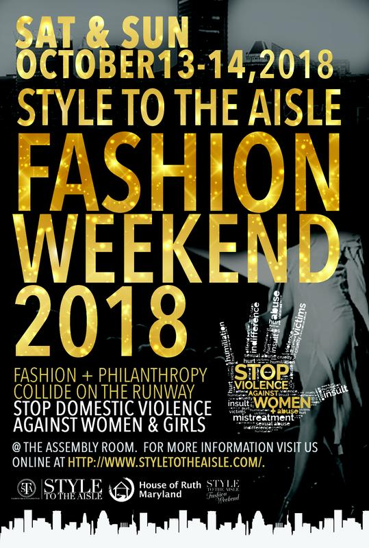 Style to the Aisle Fashion Weekend 2018