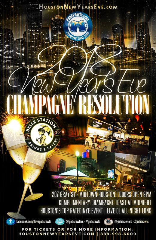 "Belle Station ""Champagne Resolution"" New Year's Eve 2018"
