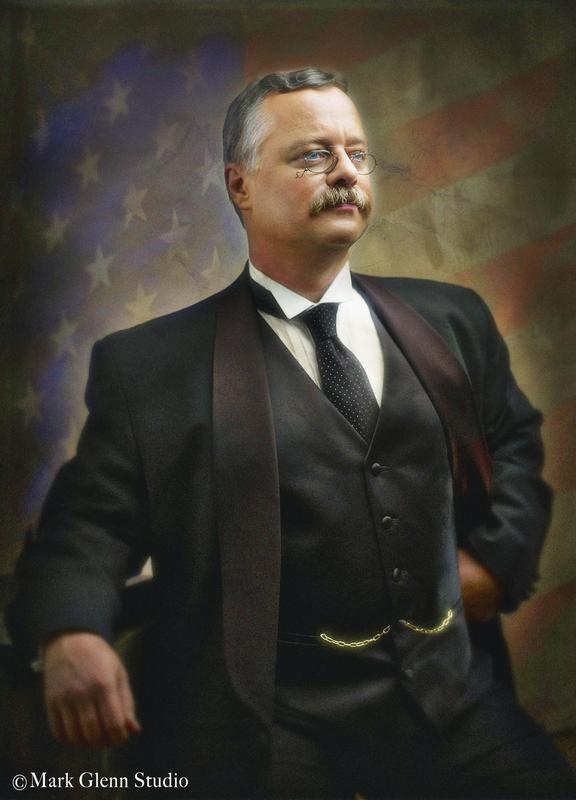 Theodore Roosevelt LIVE Like You Never Have Seen Him Before!
