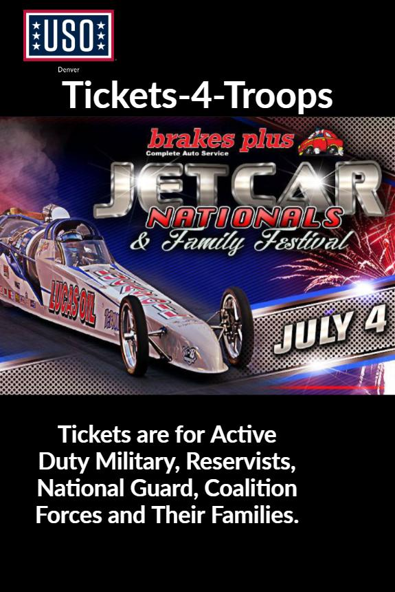 Jetcar Nationals 4th Of July Family Festival Tickets In Morrison