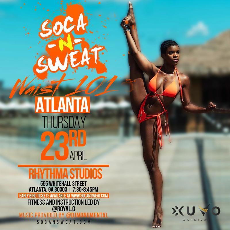 Soca N Sweat WAIST 101 - Atlanta