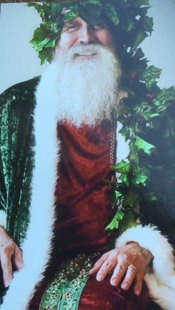 Photos with Father Christmas at the Heard-Craig Center