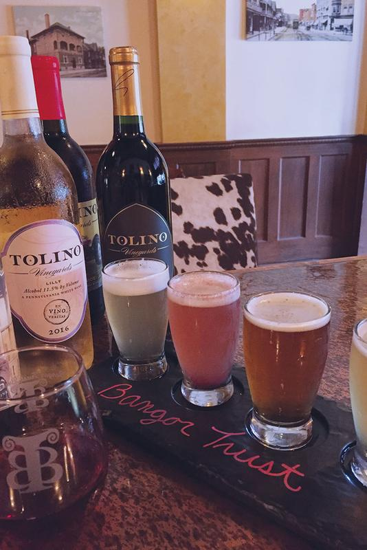 Locally Crafted Beer & Wine Dinner