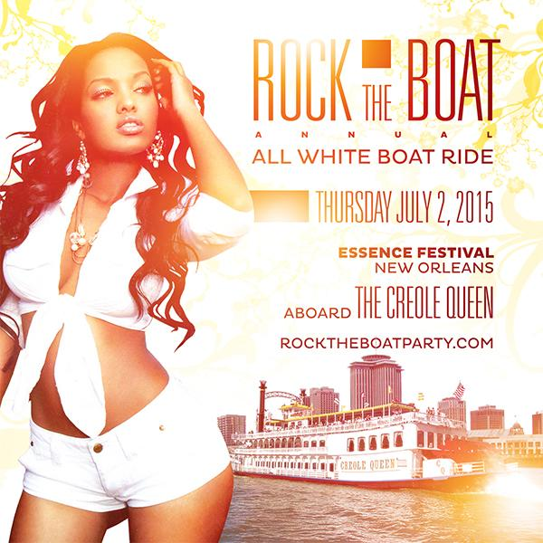 ROCK THE BOAT 2015 ALL WHITE BOAT RIDE PARTY ESSENCE MUSIC FEST