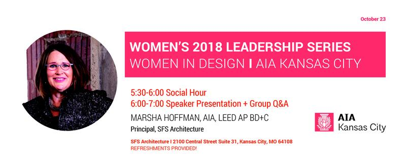 WiD: Women's Leadership Series: Marsha Hoffman, AIA