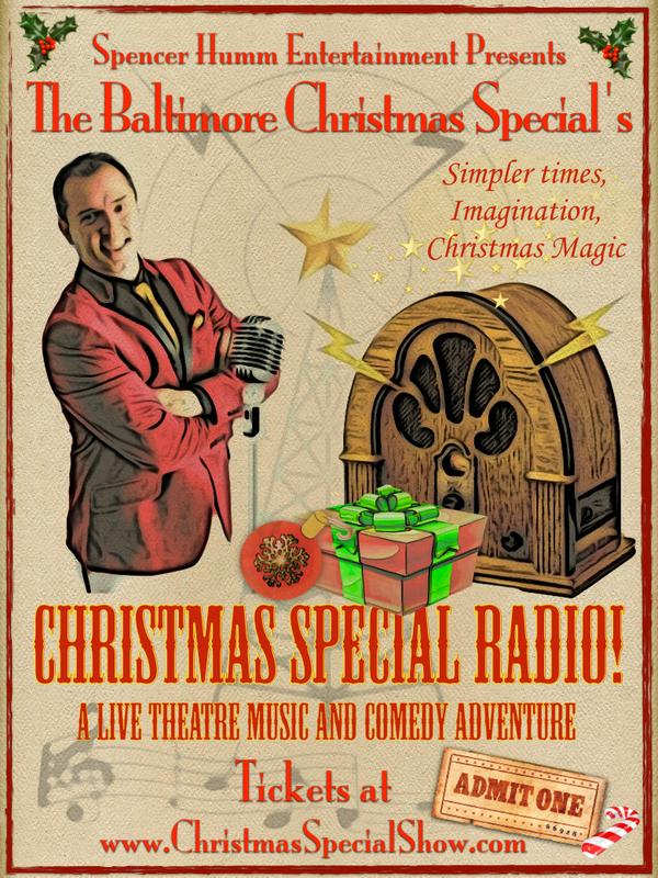 Christmas Special Radio! The Baltimore Christmas Special 2016
