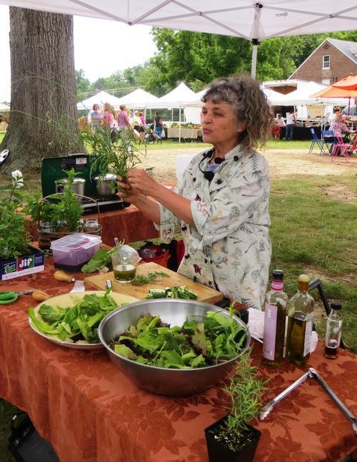Ozark Folk School Combining Summer Herbs with Seasonal Produce