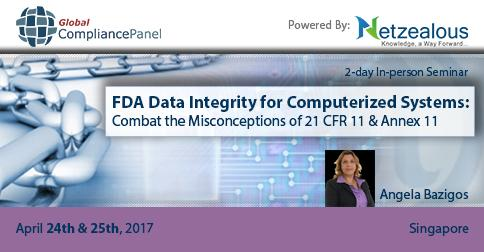 GlobalCompliancePanel  is conducting a seminar on  FDA Data Integrity for Computerized Systems