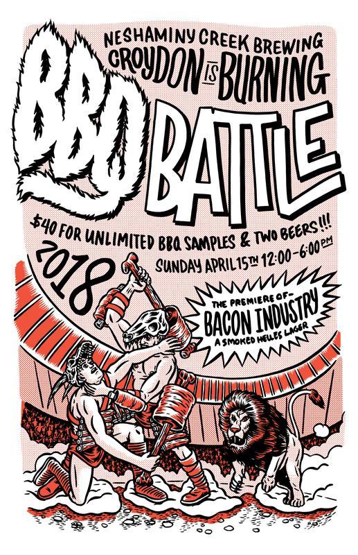Croydon is Burning : BBQ BATTLE