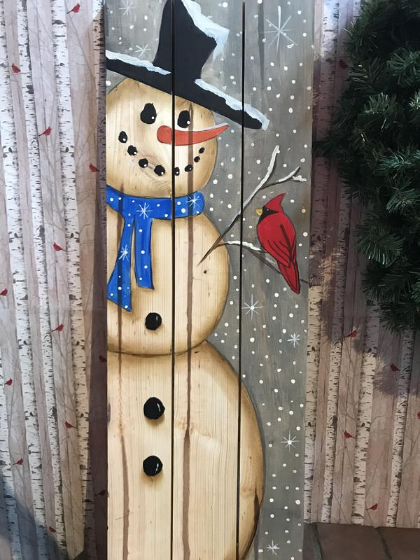 PRIVATE Snowman Cardinal