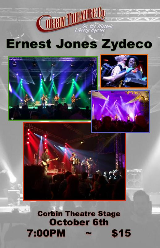 Ernest Jones Zydeco