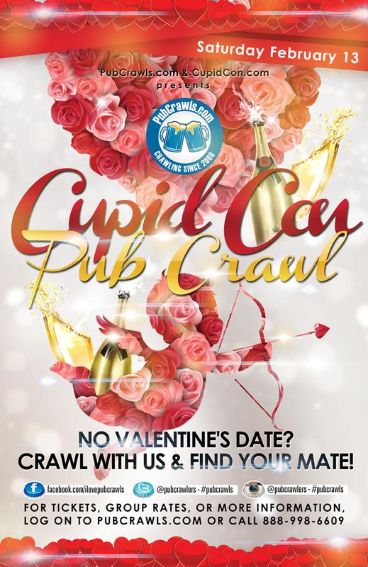 Boston Cupid Con Pub Crawl 2016