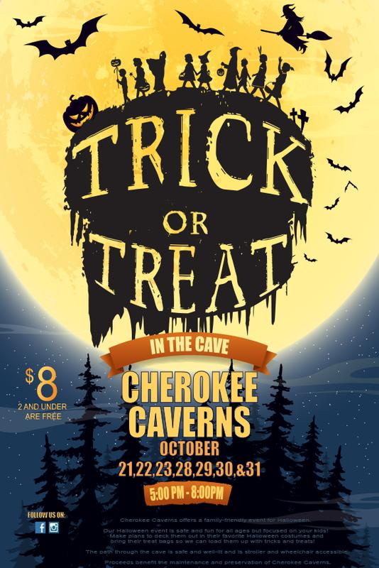 Trick or Treat in the Cave