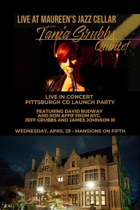 Tania Grubbs Live in Concert Pittsburgh CD Launch Party