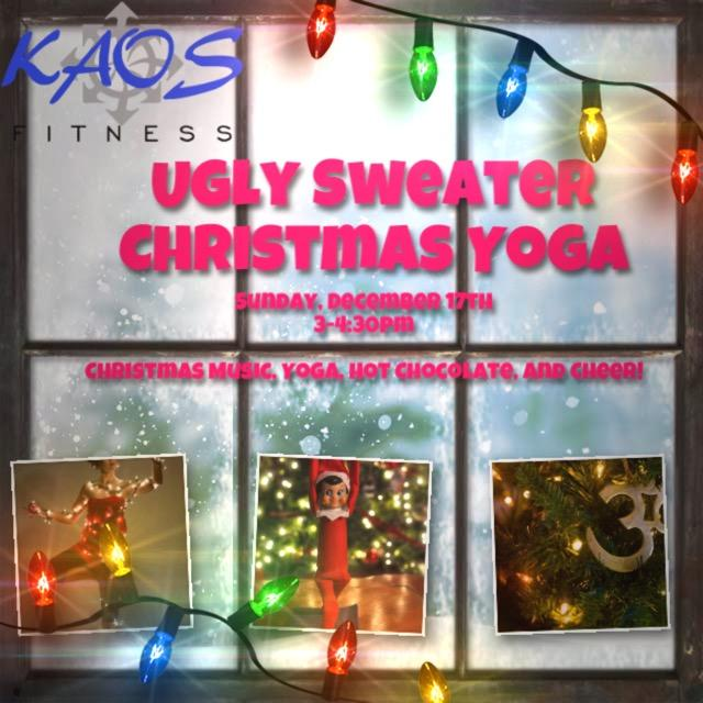 Ugly Sweater Christmas Yoga
